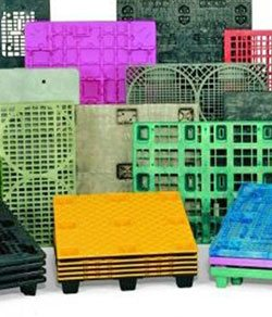 Food Grade Pallets, Crates & Bins