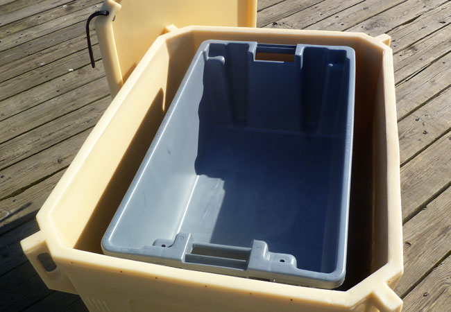 Density Of Plastic >> Commercial Style Insulated Tote RIFT310 - FishTotes