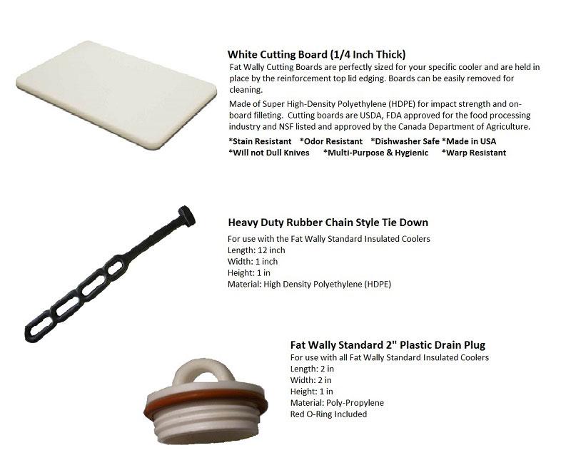 Fat Wally Standard Accessories