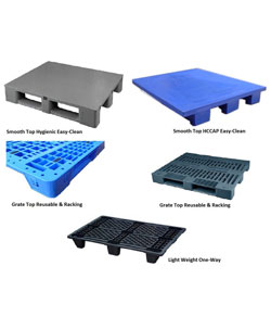 Pallets for Food, Seafood and general purpose.